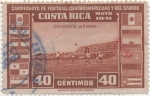 Stamps Costa Rica -  Aereo Y & T Nº 56   Football