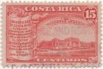Stamps Costa Rica -  Aereo Y & T Nº 64   Universidad
