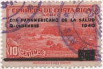 Stamps Costa Rica -  Beneficencia Y & T Nº  6 Salud