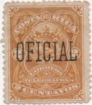 Stamps Costa Rica -  Tax Y & T Nº 17