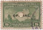 Sellos del Mundo : America : Costa_Rica : Tax Y & T Nº 65