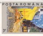 Sellos de Europa - Rumania -  TERRAZA-VAN GOGH