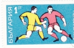 Sellos de Europa - Bulgaria -  FUTBOL
