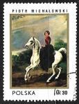 Stamps Poland -  Amazona de Piotr Michalowski