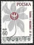 Stamps Poland -  Floar - escudo de armas