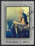 Stamps : Europe : Poland :  Pescador de Wyczolkowski