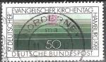 Sellos de Europa - Alemania -  XIX Convención Protestante Aleman en Hamburgo.