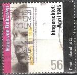 Sellos del Mundo : Europa : Alemania : Centenario de nacimiento de Hans von Dohnanyi (coordinador de resistencia alemán).