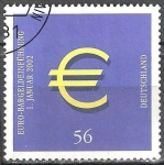 Sellos del Mundo : Europa : Alemania : Introducción de efectivo EURO.