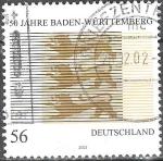 Sellos del Mundo : Europa : Alemania : 50 años Baden-Württemberg.