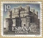 Stamps Spain -  Castillos de España - Guadamur en Toledo