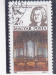 Sellos de Europa - Hungría -  jJOAN SEBASTIAN BACH