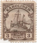 Stamps Oceania - Micronesia -  Caroline_Aleman Y & T Nº 3
