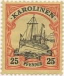 Stamps Oceania - Micronesia -  Caroline_Aleman Y & T Nº 11