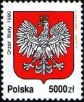 de Europa - Polonia -  Escudo Nacional  de Armas