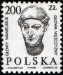 de Europa - Polonia -  Cabezas talladas de Wawel