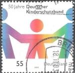 Sellos de Europa - Alemania -  50 años de asociación alemana de protección de menores.