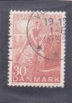 Sellos de Europa - Dinamarca -  SEGADOR