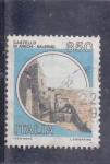 Stamps Italy -  CASTELLO DI ARECHI-SALERMO