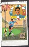 Stamps : Africa : Equatorial_Guinea :  39 - Ghiggia, futbolista de Uruguay