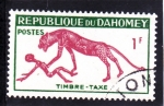 Stamps of the world : Benin :  PINTURA RUPESTRE