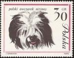 Stamps Poland -  Perro pastor polaco de tierras bajas