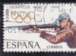 Stamps : Europe : Spain :  Juegos Olimpicos Mejico,68 (30)