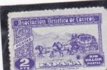 Stamps Spain -  ASOCIACIÓN BENEFICA DE CORREOS (sin valor postal) (30)