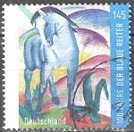 Sellos de Europa - Alemania -  Centenario del Grupo Blue Rider.