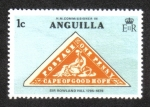 Sellos del Mundo : America : Anguila : Centenario de la Muerte de Sir Rowland Hill