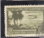 Stamps : Europe : Spain :  primera travesia rio de la plata (30)