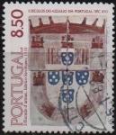 Stamps Portugal -  AZULEJOS.  ESCUDO  DE  ARMAS  DEL  DUQUE  DE  BRAGANZA  1510.