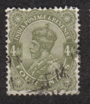 Sellos de Asia - India -   King George V - Definitives