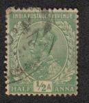 Sellos del Mundo : Asia : India : King George V - Definitives