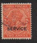 Sellos del Mundo : Asia : India :  King George V - Official
