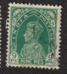 Stamps India -  King George V - Definitives
