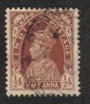 Sellos de Asia - India -  King George V - Definitives