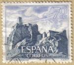 Sellos de Europa - España -  Castillos de España - Monteagudo en Murcia
