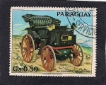 Stamps Paraguay -  Auto Antiguo