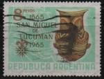 Stamps Argentina -  400th  ANIVERSARIO  DE  LA  CIUDAD  DE  SAN  MIGUEL  DE  TUCUMAN
