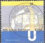 Sellos de Europa - Alemania -  100 años del metro de Berlín.