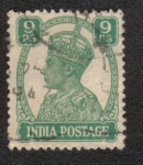Stamps India -  King George V - Definitives