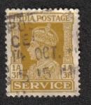 Sellos de Asia - India -  King George VI - Official