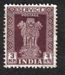 Stamps India -  Capital del Pilar de Asoka