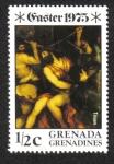 Sellos de America - Granada -  Pascua - Pinturas de la crucifixión
