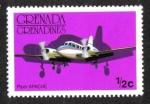 Sellos de America - Granada -  Aero naves