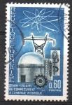 Stamps France -  20th  ANIVERSARIO  DE  LA  COMISION  ATOMICA