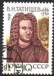 Stamps Russia -  HISTORIADOR  B. N.  TATISCHEV (1686-1750)