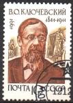 Stamps Russia -  HISTORIADOR  VASILI  O.  KLYUCHEVSKY  (1841-1911)