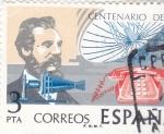 Stamps : Europe : Spain :  CENTENARIO DEL TELEFONO(30)